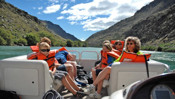 Clutha River Cruises and Jet Tours